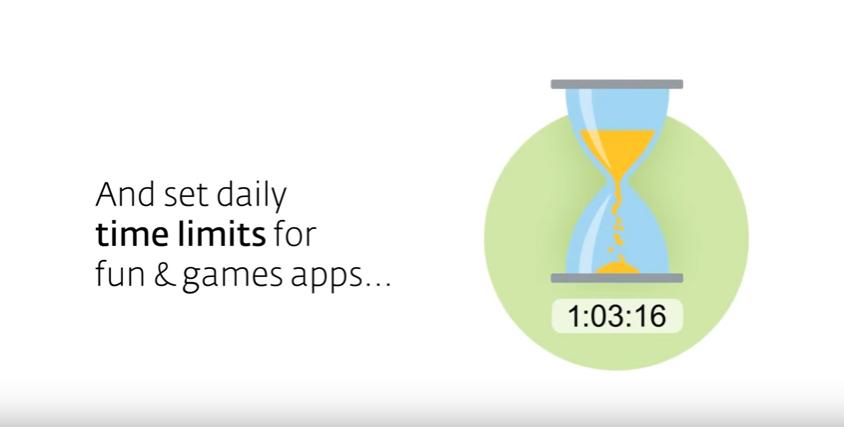 Capture d'écran Eset Parental Control Android