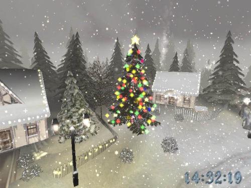 Capture d'écran Noel 3D Ecran de Veille