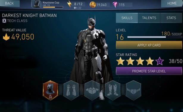 Capture d'écran Injustice 2 Android
