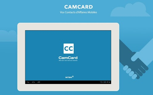 Capture d'écran CamCard – BCR (Western)