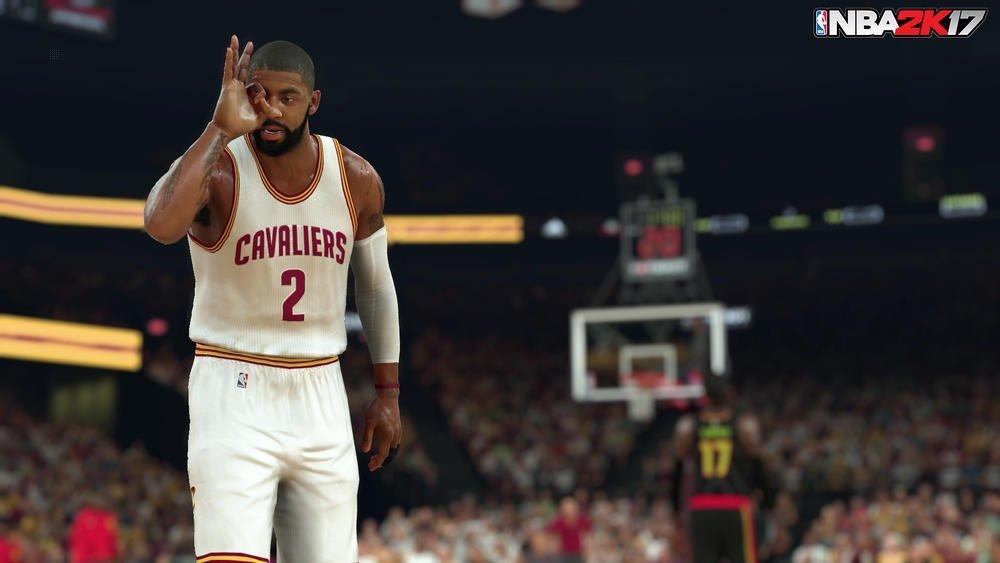 Capture d'écran NBA 2K17