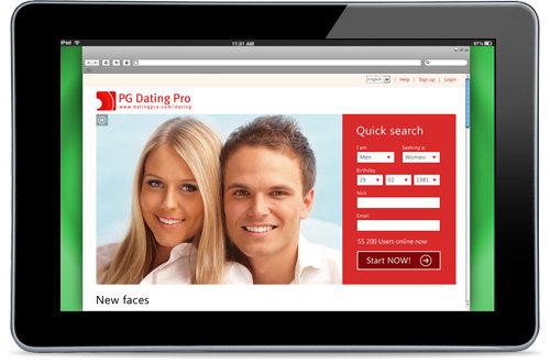 Capture d'écran Dating Pro