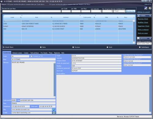 Capture d'écran DFMLight