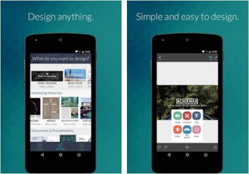 Capture d'écran Desygner Android
