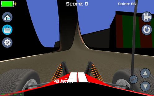 Capture d'écran RC Voiture Colline Racing 3D