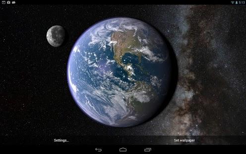 Capture d'écran Earth