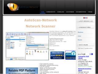 Capture d'écran AutoScan