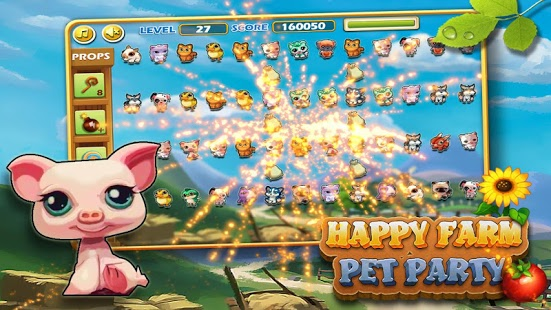 Capture d'écran Happy Farm : Pets Party