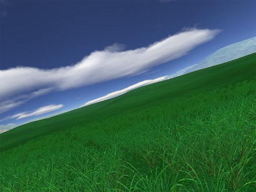 Capture d'écran Green Fields 3D screensaver