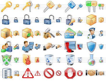 Capture d'écran Perfect Security Icons