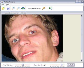 Capture d'écran Red Eye Remover