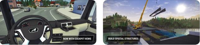 Capture d'écran Construction Simulator 3 Lite iOS