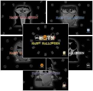 Capture d'écran ALTools Halloween Desktop Wallpapers