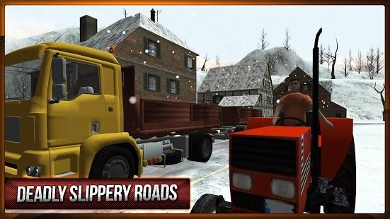 Capture d'écran Hiver Hill Climb Truck Racing