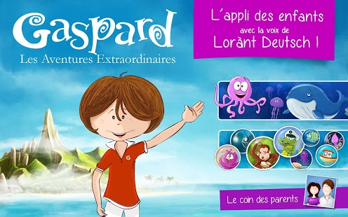 Capture d'écran Gaspard : les Aventures extraordinaires iOS