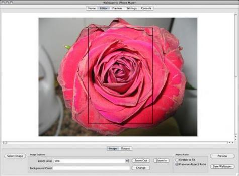 Capture d'écran Wallpaperio iPhone Maker