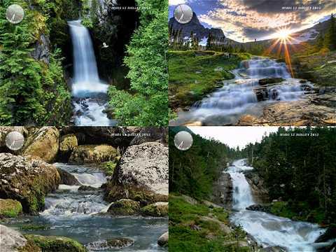Capture d'écran Nature, cascades et torrents