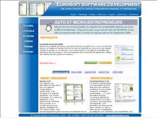 Capture d'écran EuroThink Compte