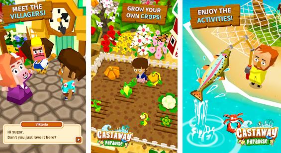 Capture d'écran Castaway Paradise Android