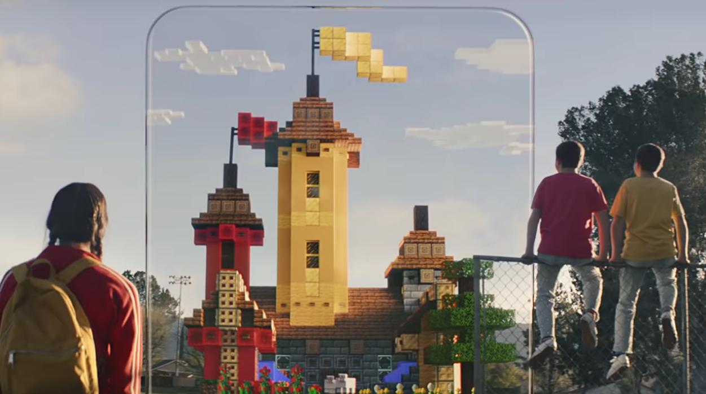 Capture d'écran Minecraft Earth (Android-iOs)