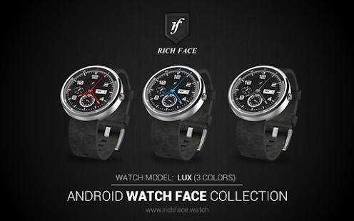 Capture d'écran Lux Watch Face