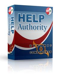 Capture d'écran DC Help Authority