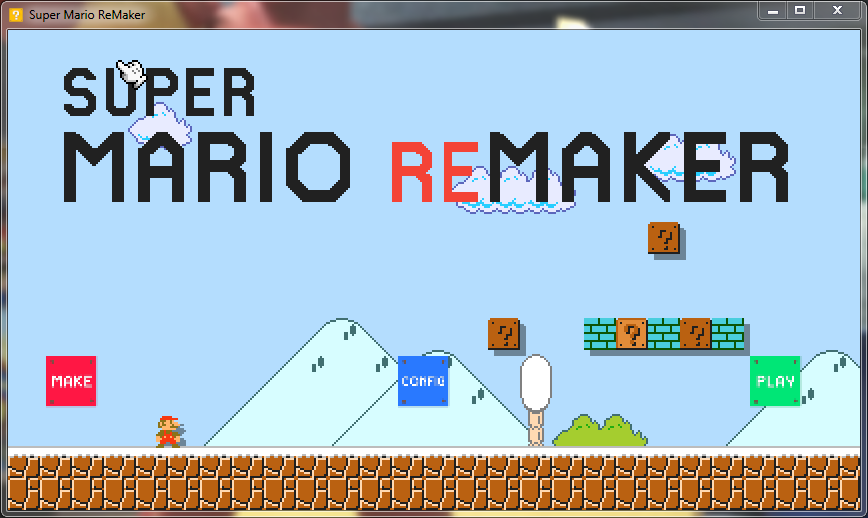 Capture d'écran Super Mario ReMaker Demo