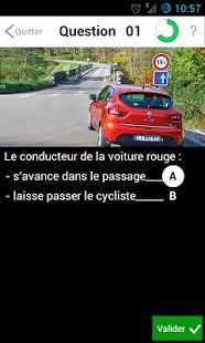 Capture d'écran Code de la route 2015