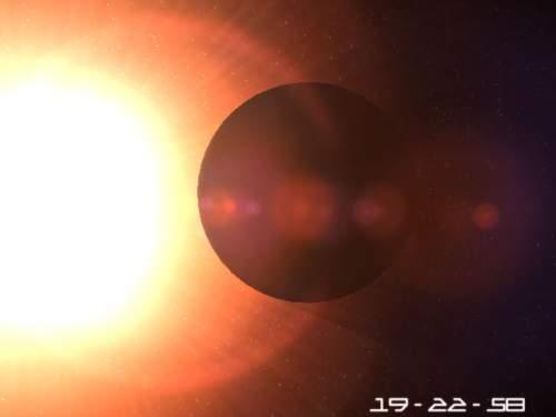 Capture d'écran Planet Mercury 3D Screensaver