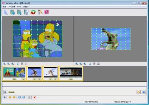 Capture d'écran VidMorph PRO