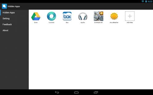 Capture d'écran Hide App-Hide Application Icon