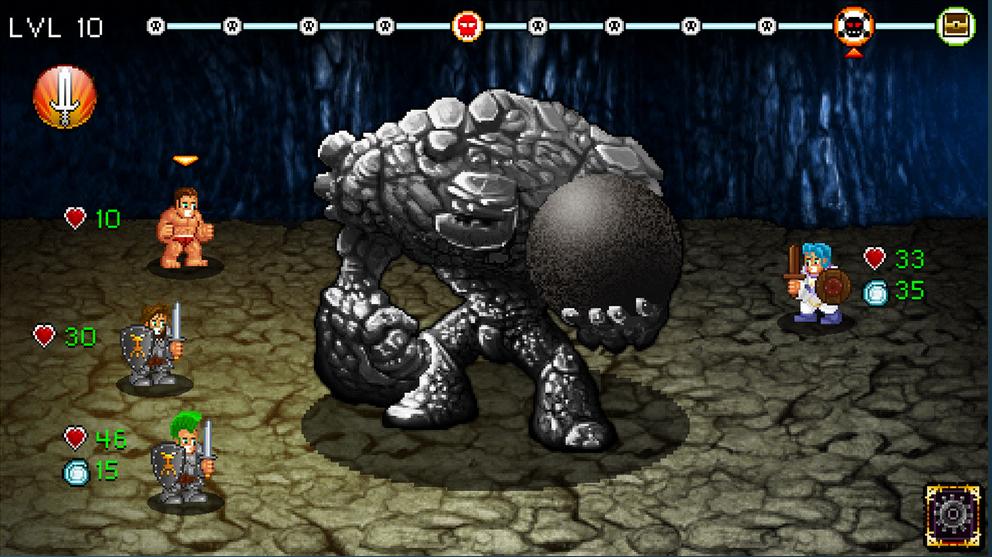 Capture d'écran Soda Dungeon
