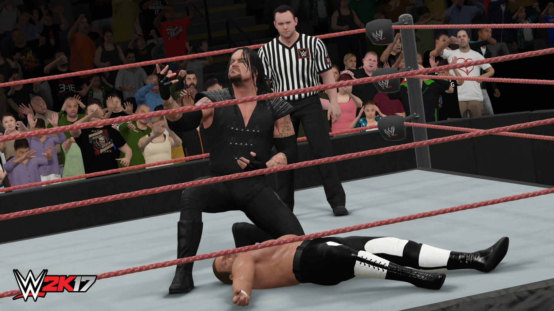Capture d'écran WWE 2K17