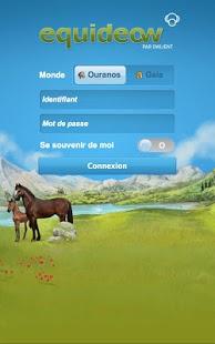 Capture d'écran Equideow