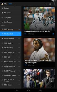Capture d'écran TheScore: Sports