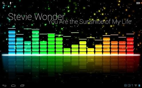 Capture d'écran Audio Glow Live Wallpaper