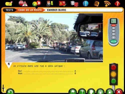 Capture d'écran Code de la route
