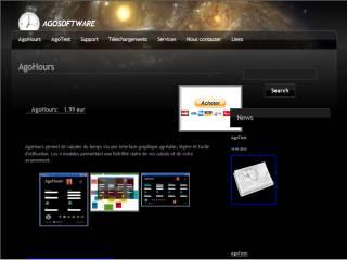 Capture d'écran Agohours
