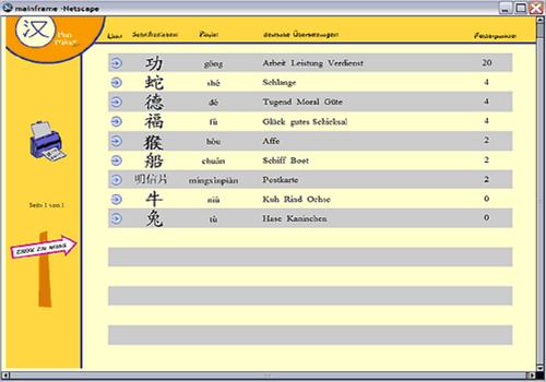 Capture d'écran Han Trainer