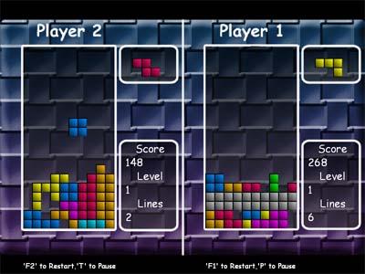Capture d'écran EIPC Free Tetris