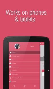Capture d'écran Pregnancy Assistant App