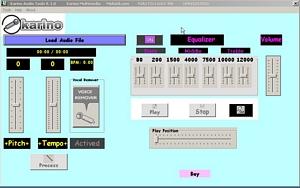 Capture d'écran Karino Audio Tools