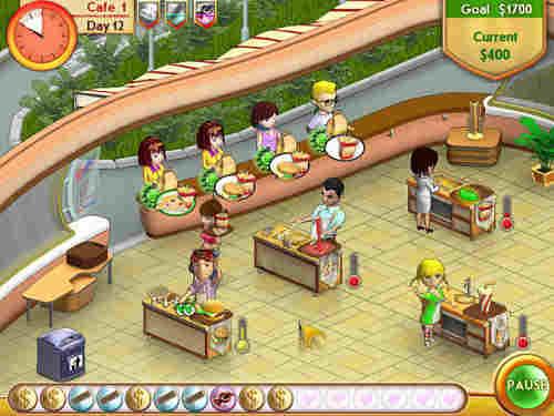 Capture d'écran Amelies Cafe
