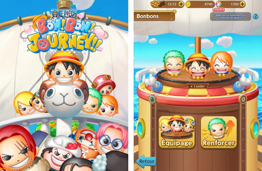 Capture d'écran One Piece BON! BON! JOURNEY!! Android