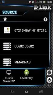 Capture d'écran D-Link SmartPlay