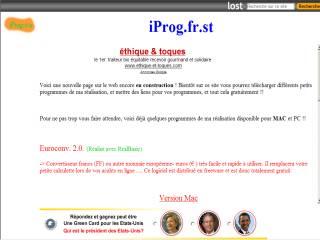 Capture d'écran Euroconv.
