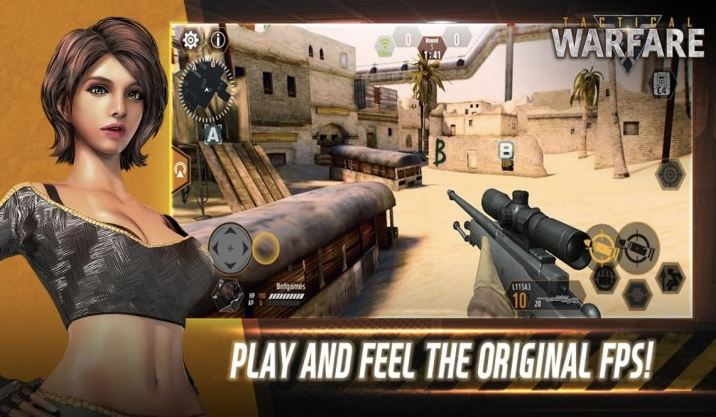 Capture d'écran Tactical Warfare Android