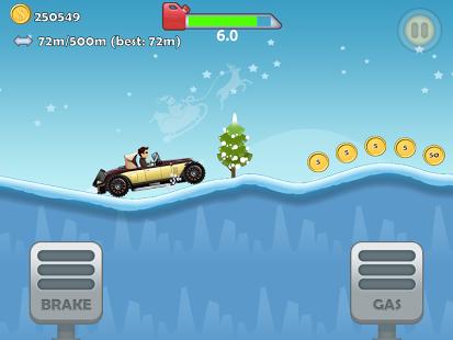 Capture d'écran Hill Racing: Christmas Special