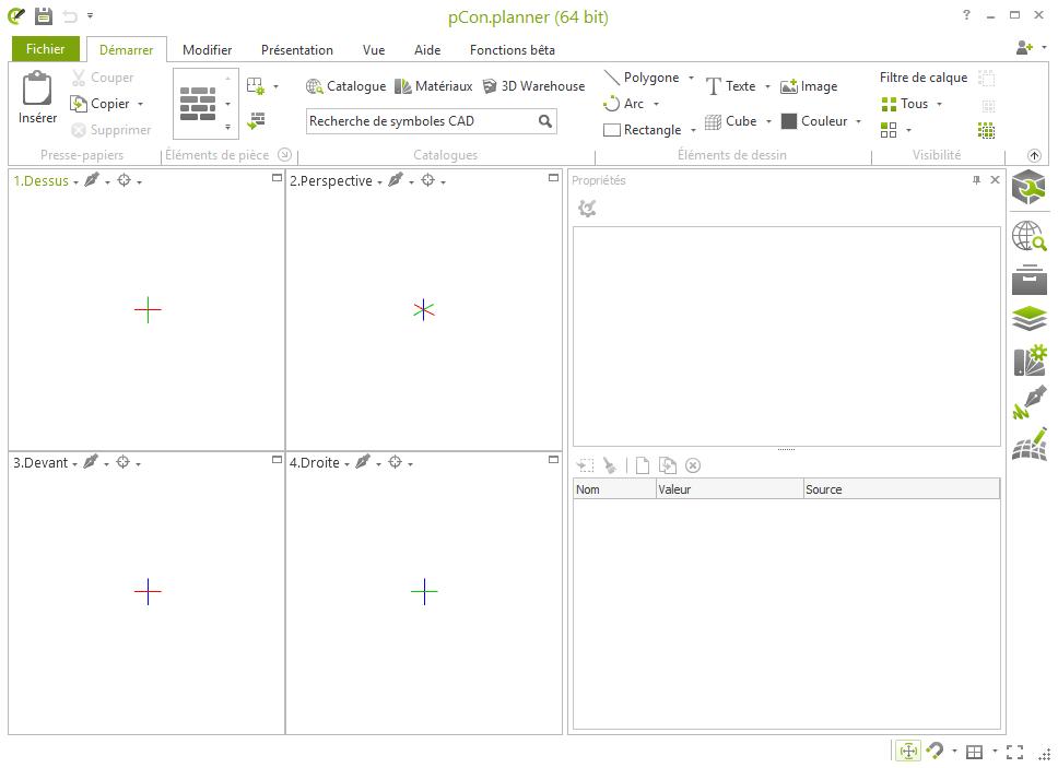 Capture d'écran pCon Planner