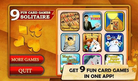 Capture d'écran 9 Fun Card Games – Solitaire